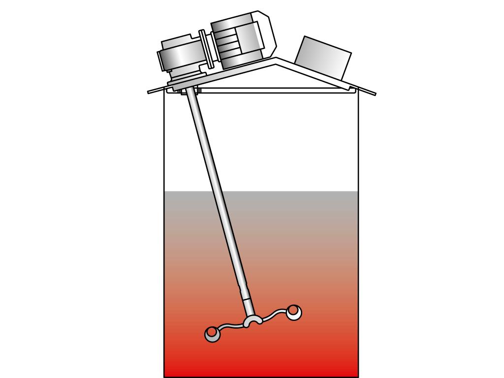 Agitador para barriles cerrados con entrada de 2″: VJ370